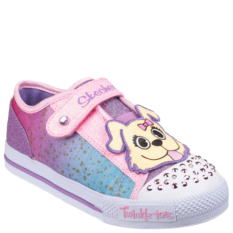 Skechers Toddlers' Twinkle Toes Shuffles Trainers - Multi
