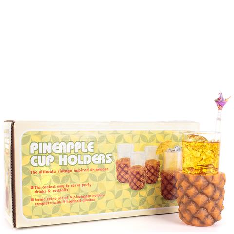 Retro Style Pineapple Glasses