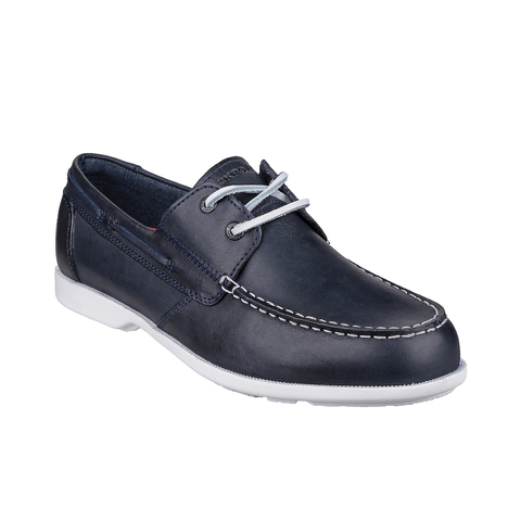 Rockport Men's Summer Sea 2-Eye Boat Shoes - Navy