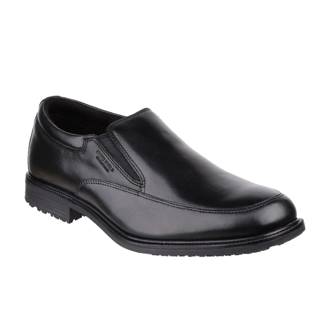 Rockport Men's Essential Details Waterproof Slip On Shoes - Black