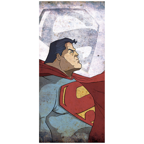 Kal-El Superman Inspired Fine Art Print - 16.5