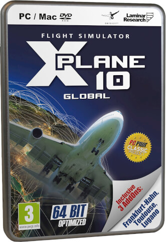 X-Plane 10 Global 64-Bit Best Of with DLC