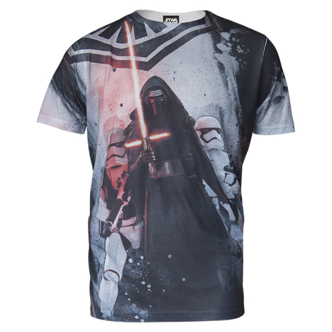 Star Wars Mens Darth Vader T-Shirt - Grijs
