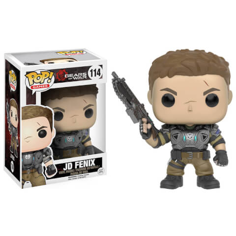 Gears of War Armored JD Fenix Pop! Vinyl Figure