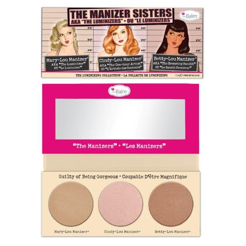 theBalm Manizer Sisters (Manizer Trio) Highlighters