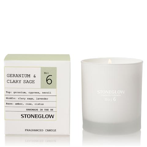 Stoneglow Modern Apothecary No. 6 Tumbler - Geranium and Clary Sage