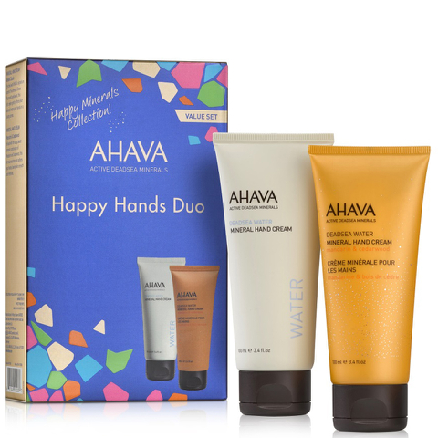 AHAVA Happy Minerals Hand Cream Duo