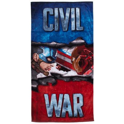 Captain America: Civil War Bath Towel - 70 x 140cm