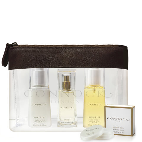 Connock London Kukui Oil Travel Collection