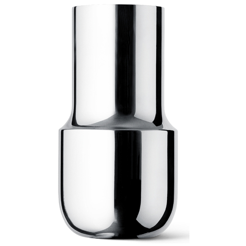 Menu Tactile Tall Vase - Stainless Steel