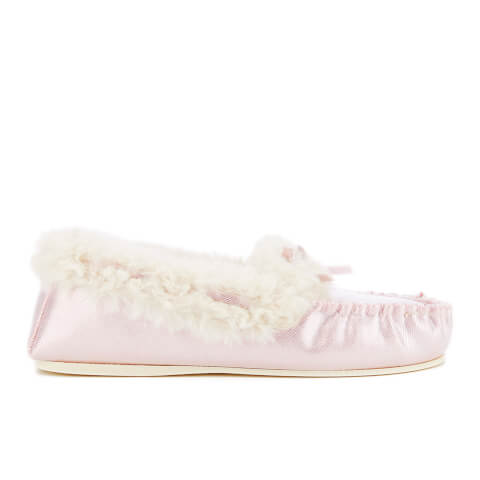 Dunlop Women's Amaline Moccasin Slippers - Lilac