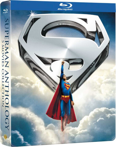Superman Anthology: 5 Film Collection - Zavvi Exclusive Steelbook (Limited To 1000 Units)