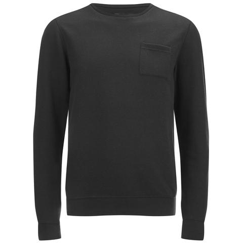 Dissident Men's Clere Pique Sweatshirt - Black