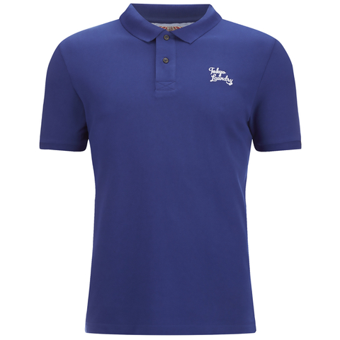Tokyo Laundry Men's Whidbey Pique Polo Shirt - Sapphire