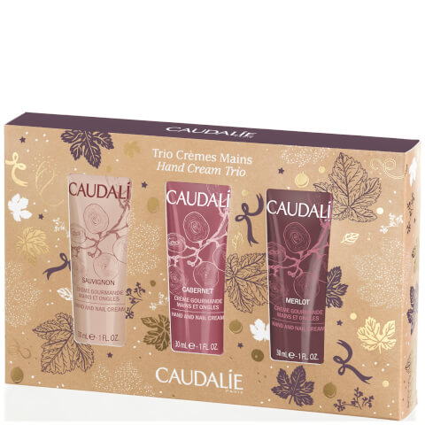 Caudalie Christmas Hand Cream Trio (3 x 30ml)