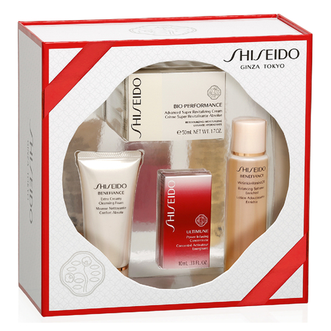 SHISEIDO BIO-PERFORMANCE ADVANCED SUPER REVITALIZING CREAM KIT