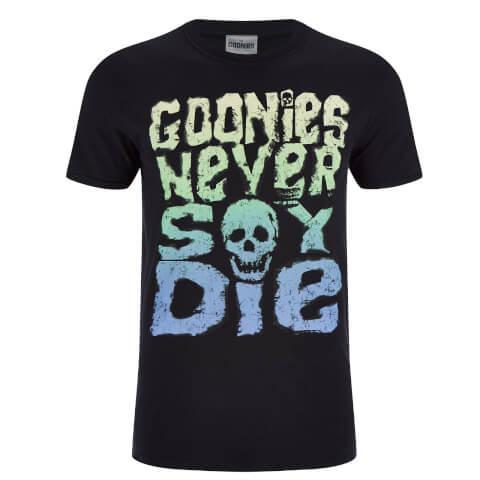 Goonies Men's Never Say Die T-Shirt - Black