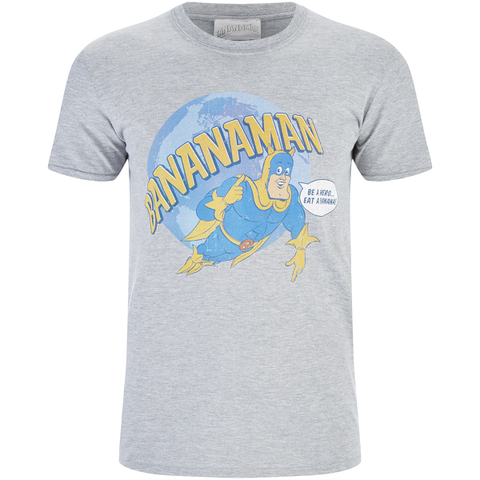 Bananaman Men's Eat A Banana T-Shirt - Grey