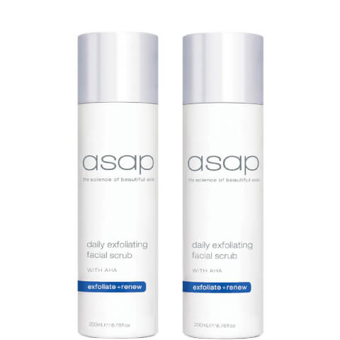 2x Asap Daily Exfoliating Facial Scrub