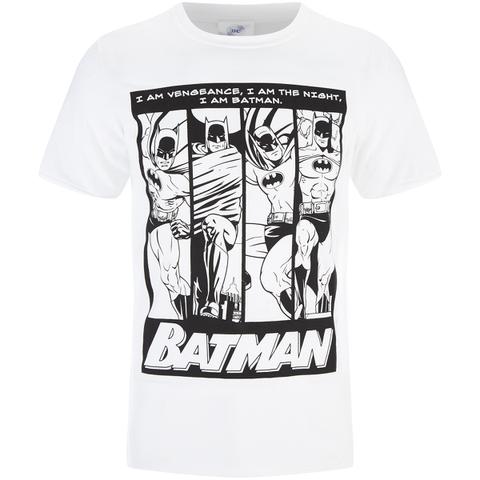 DC Comics Batman Men's I am Batman T-Shirt - Black