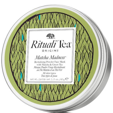 Origins Rituali Tea Matcha Madness, Masque Poudre Visage Revitalisant au Thé Matcha et au Thé Vert (45g)