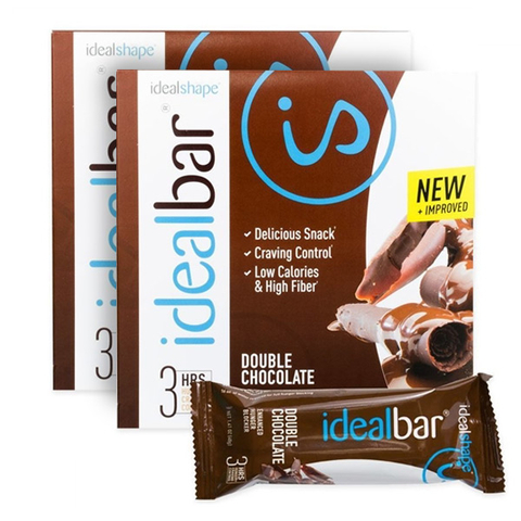 IdealBar 2 Boxes Double Chocolate