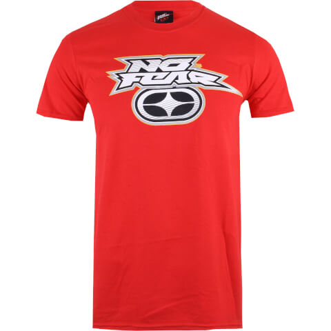 No Fear Men's Reflective Logo T-Shirt - Red