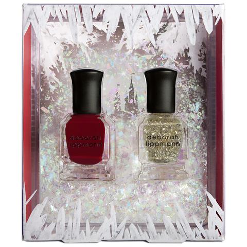 Deborah Lippmann Ice Queen Nail Varnish Gift Set (2x8ml)
