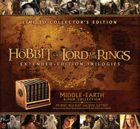 Middle Earth 6-Film Limited Collectors Edition