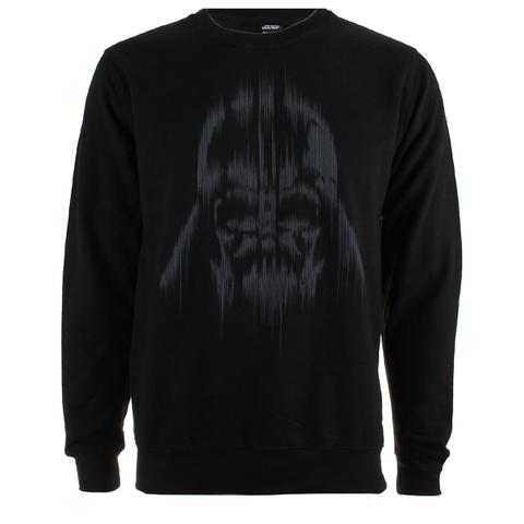 Star Wars Rogue One Men's Vader Lines Crew Sweatshirt - Black