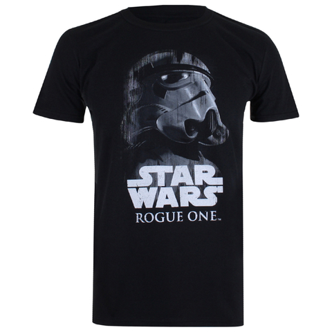Star Wars: Rogue One Mens Trooper Glare T-Shirt - Zwart