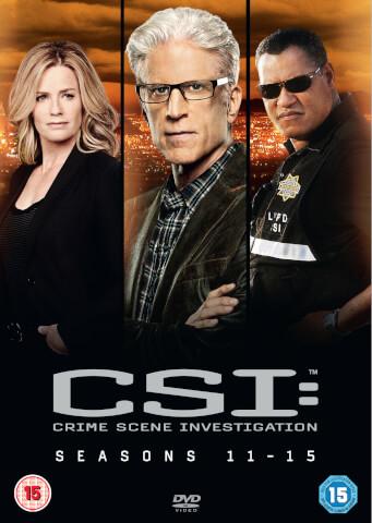 CSI: Vegas - Season 11-15 Boxset