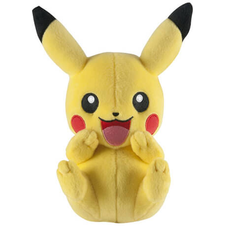 Pokemon Plush Figure Pikachu laughing