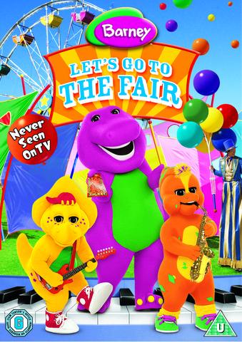 Barney - Lets Go To The Fair