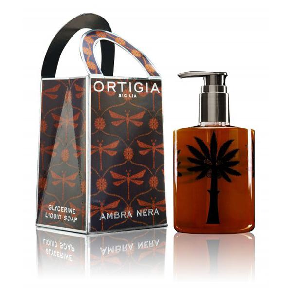 Ambra Nera Liquid Soapd'Ortigia 300ml
