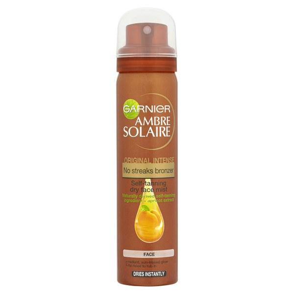 Garnier Ambre Solaire No Streaks Bronzer Face Mist Spray - Original (75ml)