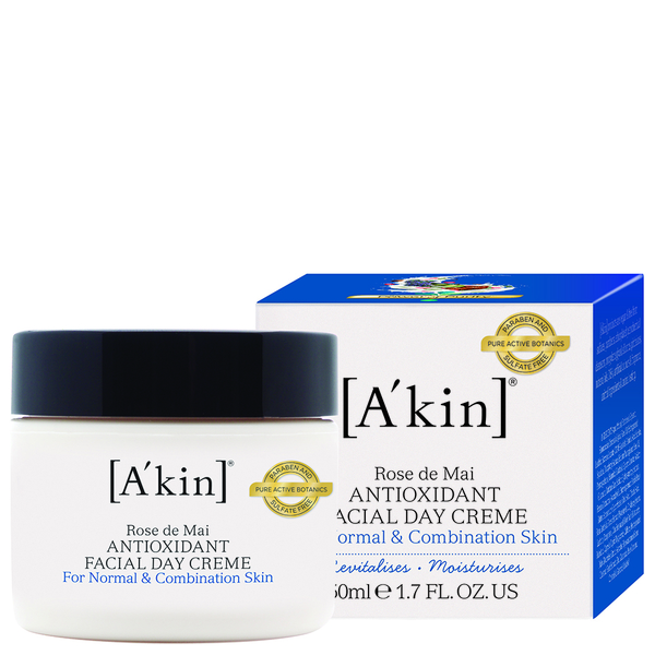 A'Kin Rose De Mai Anti-Oxidant Day Creme (50ml)