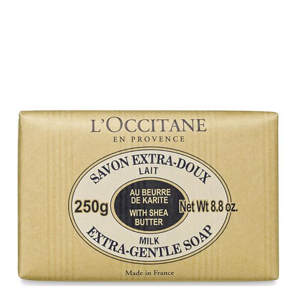 L'OCCITANE SHEA BUTTER SOAP - MILK (250G)