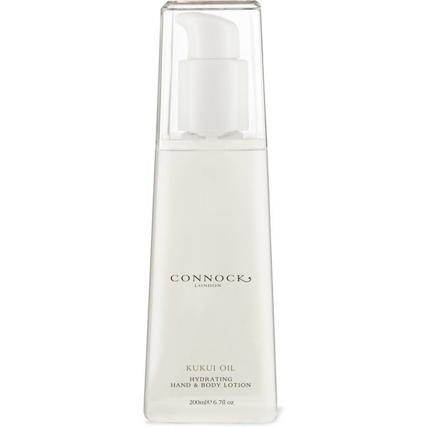 Connock London Kukui Oil Hydrating Hand & Body Lotion 200ml