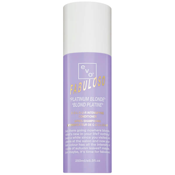 Evo Fabuloso Colour Intensifying Conditioner Platinum Blonde (250ml)