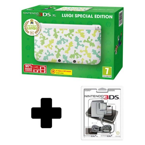 Nintendo 3ds Xl Luigi Special Edition Nintendo Uk Store