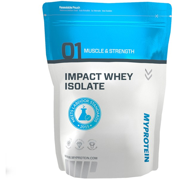 Impact Whey Protein 1KG (Number 1 proteiin Euroopas)