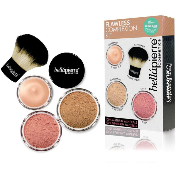 Bellápierre Cosmetics Flawless Complexion Kit - Dark