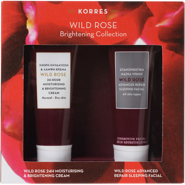 Korres Wild Rose 1+1 Brightening Collection