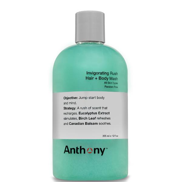 Anthony Invigorating Rush Hair and Body Wash