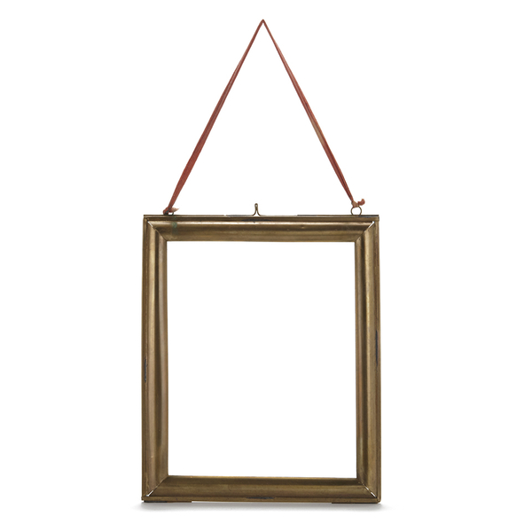 Nkuku Kariba Antique Brass Frame - Antique Brass - Portrait 8 x 10