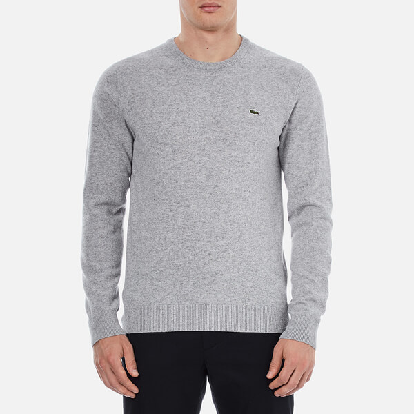 Lacoste Men's Basic Crew Knitted Jumper - Grey