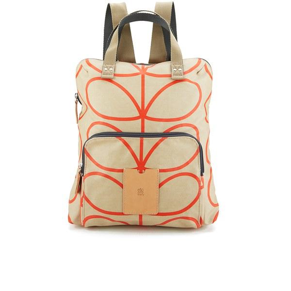 Etc by Orla Kiely Women's Giant Linear Stem Backpack