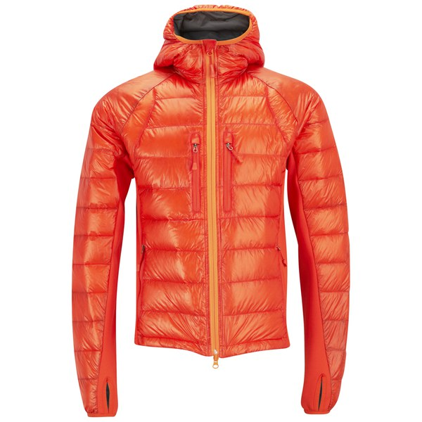 Canada Goose kids outlet discounts - Canada Goose Men's Hybridge Lite Hoody - Amber/Sunset Orange ...