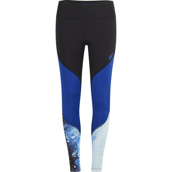 Myprotein Womenu2019s High Waisted Colour Block Leggings - Blue